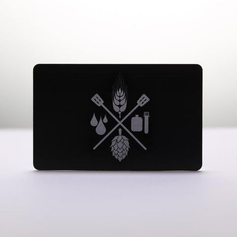 Craft Beer & Brewing Black Card (Gift Card)
