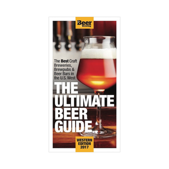 The Ultimate Beer Guide: Western Edition (Print Book) - Craft Beer & Brewing