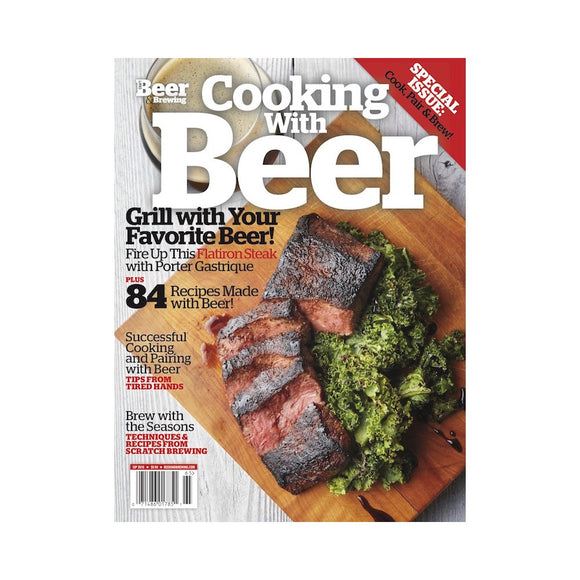 Cooking With Beer 2016 (Print) - Craft Beer & Brewing