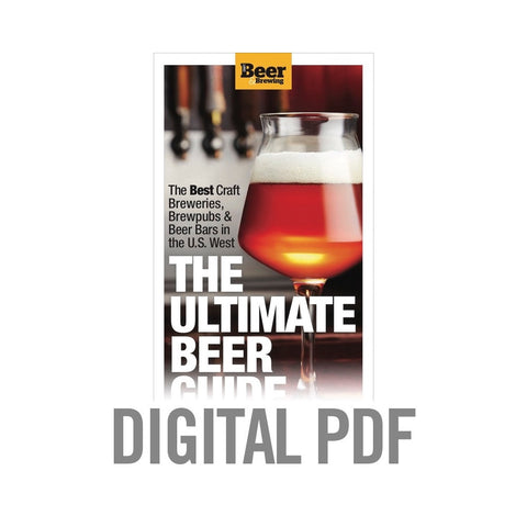 The Ultimate Beer Guide: Western Edition (PDF Download)