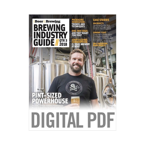 Brewing Industry Guide Q3-2018 (PDF Download)