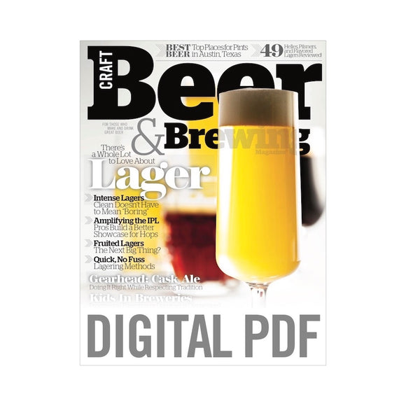 There's a Whole Lot to Love About Lagers (June-July 2018 Issue PDF Download)
