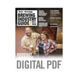 Brewing Industry Guide Q1-2018 (PDF Download)