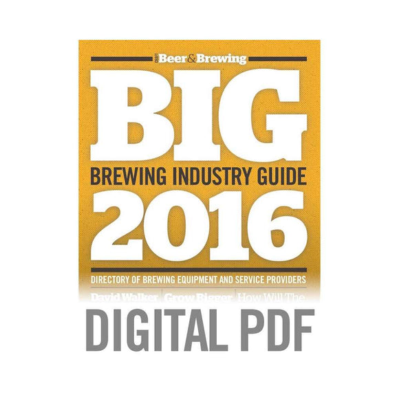 Brewing Industry Guide 2016 (PDF Download) - Craft Beer & Brewing