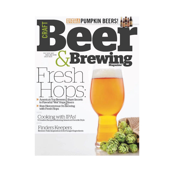 August-September 2015 Issue (Fresh Hops) - Craft Beer & Brewing