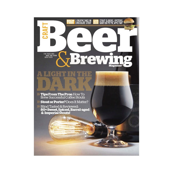 April-May 2016 Issue (Print) - Craft Beer & Brewing