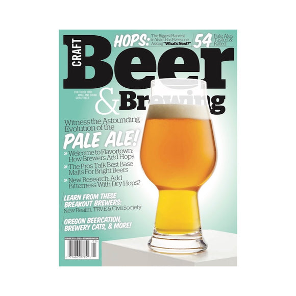 Witness the Astounding Evolution of the Pale Ale (Apr-May 2018 Issue)