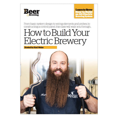How to Build Your Electric Brewery (DVD)