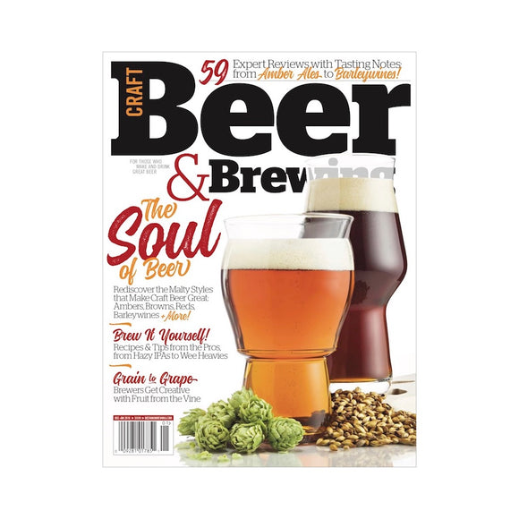 The Soul of Beer (Dec 2017-Jan 2018 Issue) - Craft Beer & Brewing