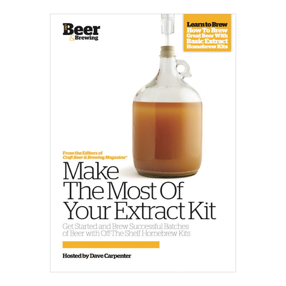 Make the Most of Your Malt Extract Kit (DVD) - Craft Beer & Brewing