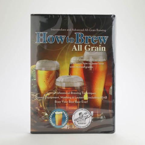 How to Brew All Grain Beer (DVD)