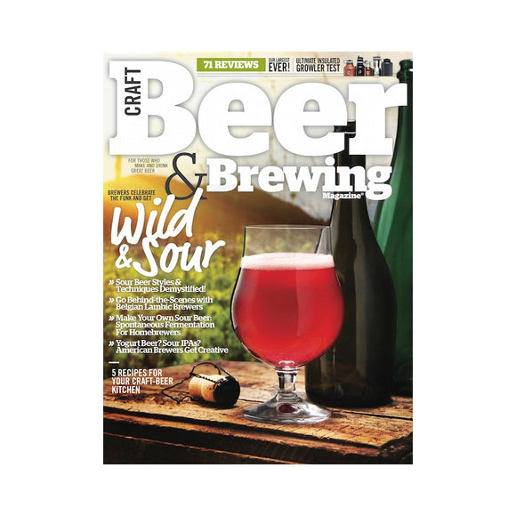 June-July 2015 Issue (Wild & Sour) - Craft Beer & Brewing