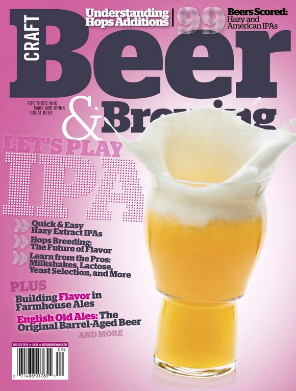 Let's Play IPA (August-September 2019) - Craft Beer & Brewing
