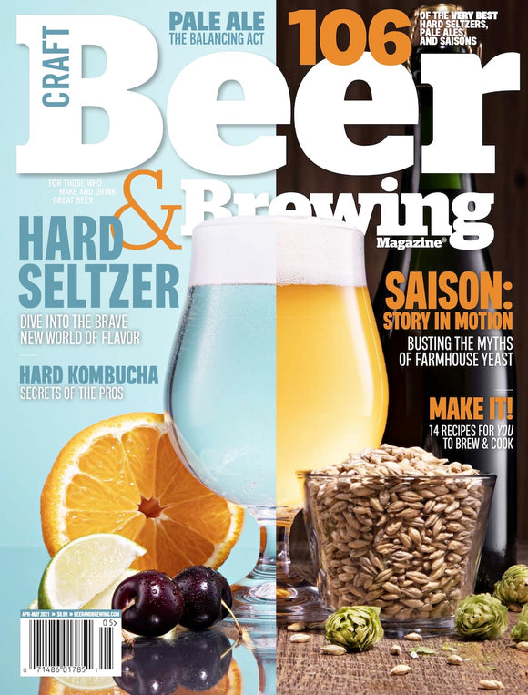 Beyond Beer: Hard Seltzer, Hard Kombucha, and More (Apr-May 2021)