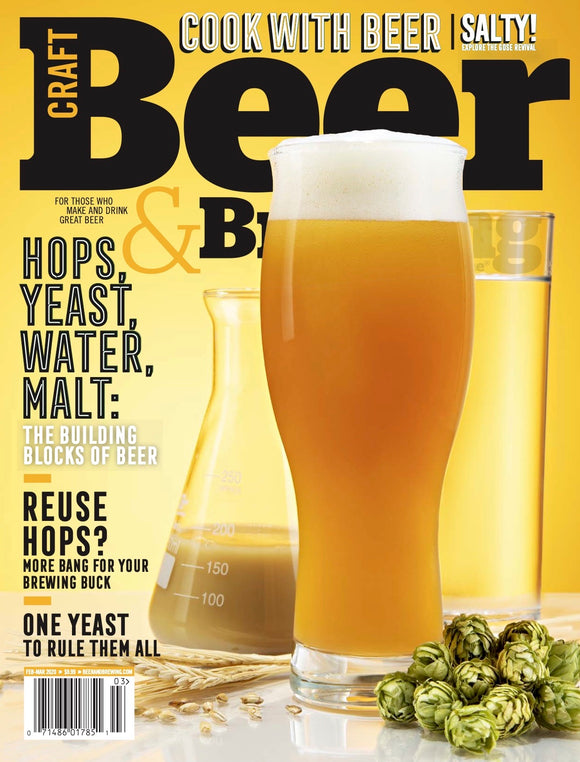 Hops, Yeast, Water, Malt (Feb-Mar 2020) - Craft Beer & Brewing