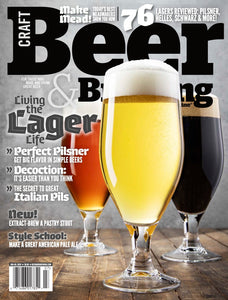 Live the Lager Life (June-July 2020) - Craft Beer & Brewing