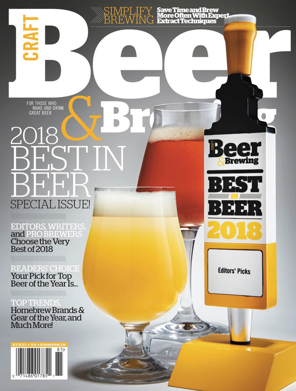 2018 Best in Beer Issue - Craft Beer & Brewing
