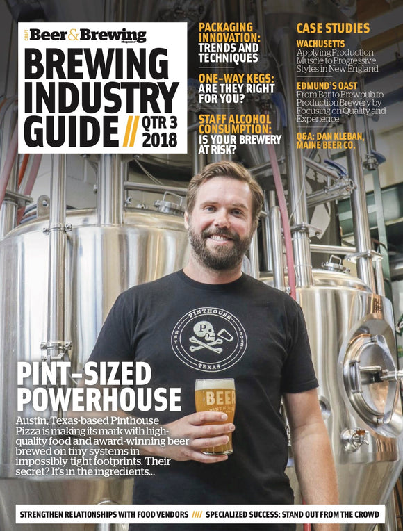 Brewing Industry Guide Q3-2018 (The Packaging Issue) - Craft Beer & Brewing