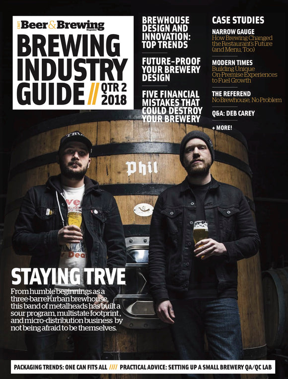 Brewing Industry Guide Q2-2018 (The Equipment Issue) - Craft Beer & Brewing