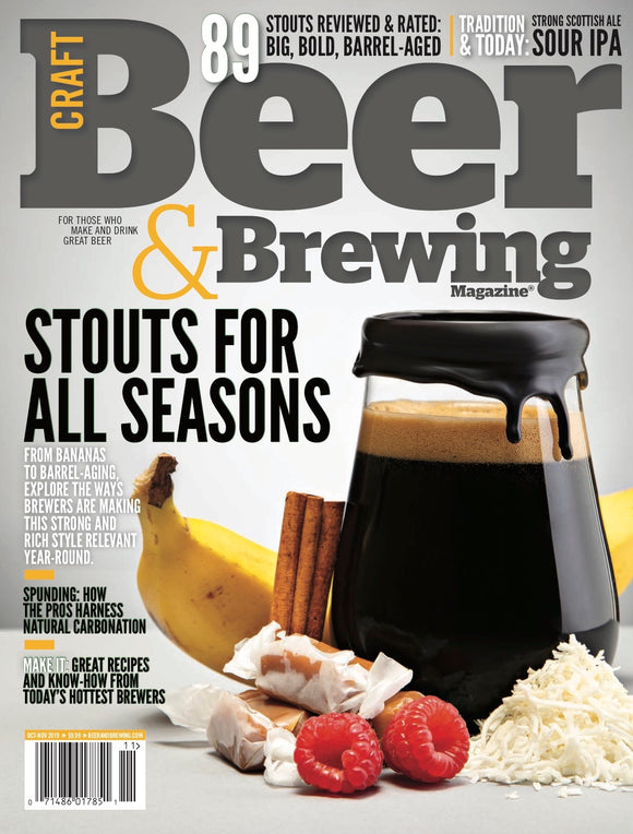 Stouts for All Seasons (October-November 2019) - Craft Beer & Brewing