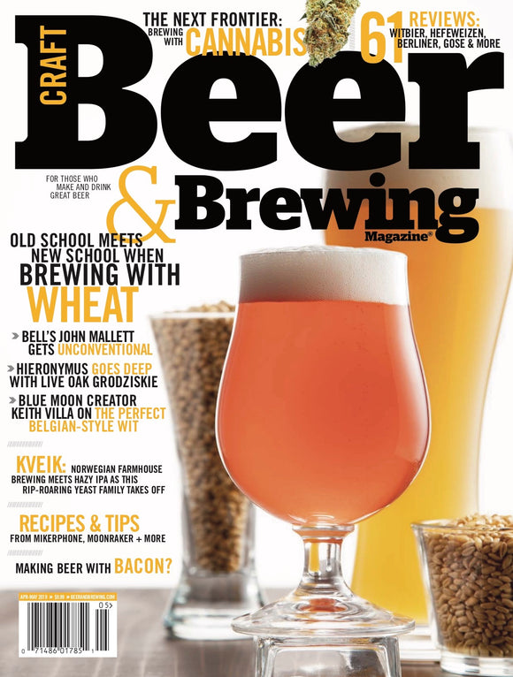 Wheat, Weed, & Kveik (Apr-May 2019) - Craft Beer & Brewing