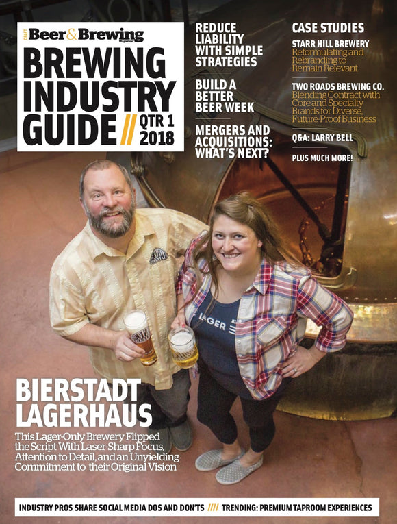 Brewing Industry Guide Q1-2018 (The Raw Ingredient Issue) - Craft Beer & Brewing