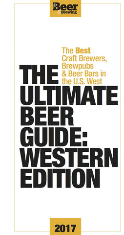 The Ultimate Beer Guide: Western Edition (Print Book)