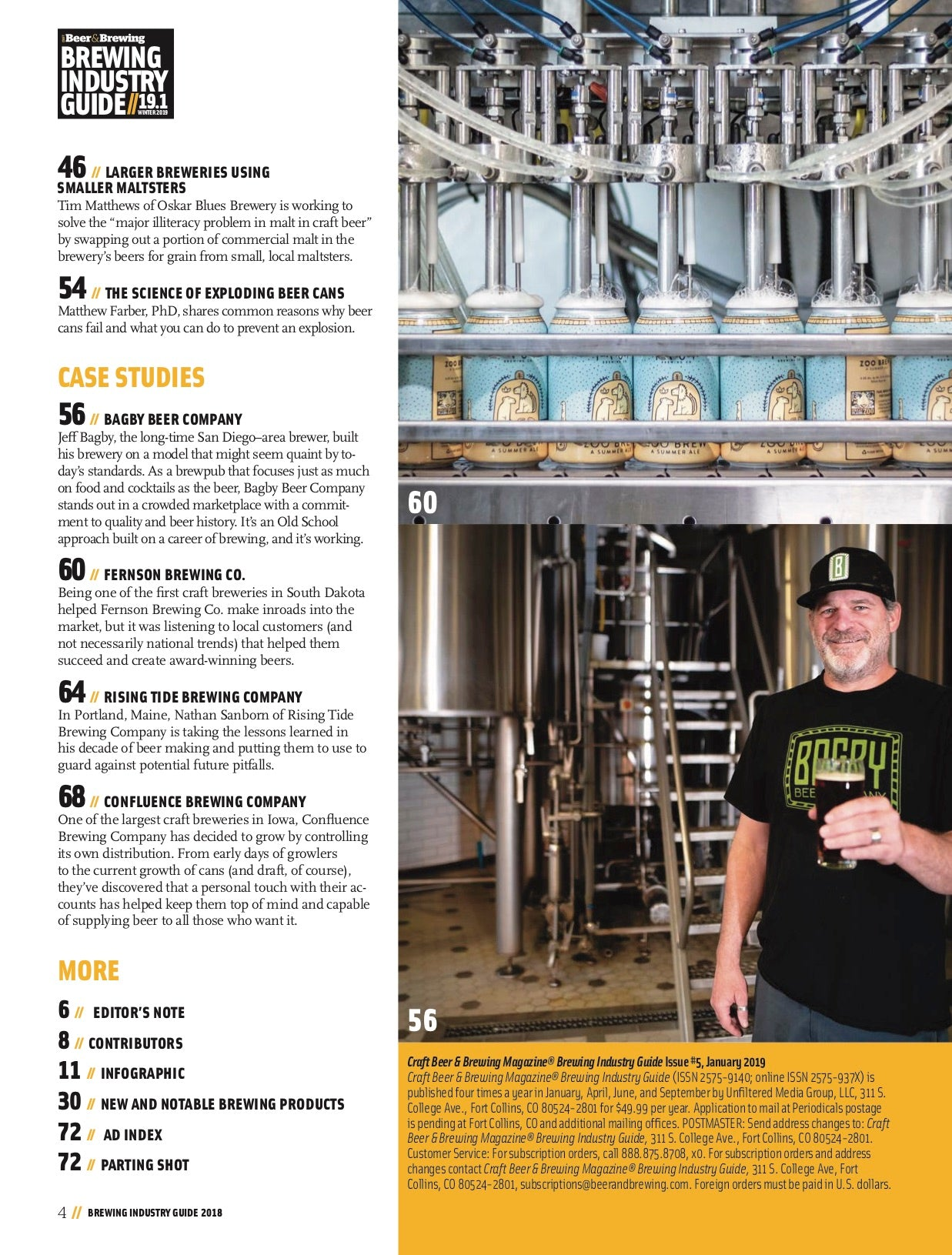 Brewing Industry Guide 19 1 (The Ingredients Issue) – Craft
