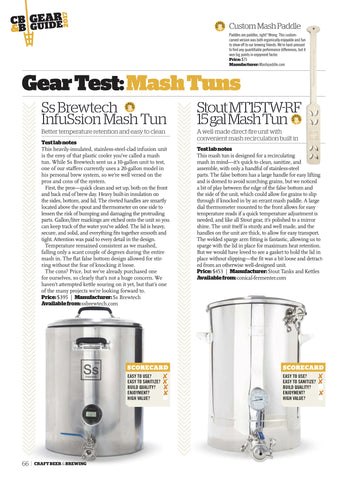 April-May 2017 Issue (The Gear Guide)