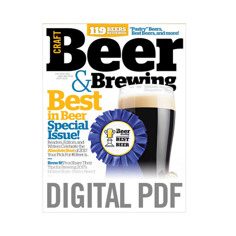 Best in Beer 2017 Special Issue (PDF Download)