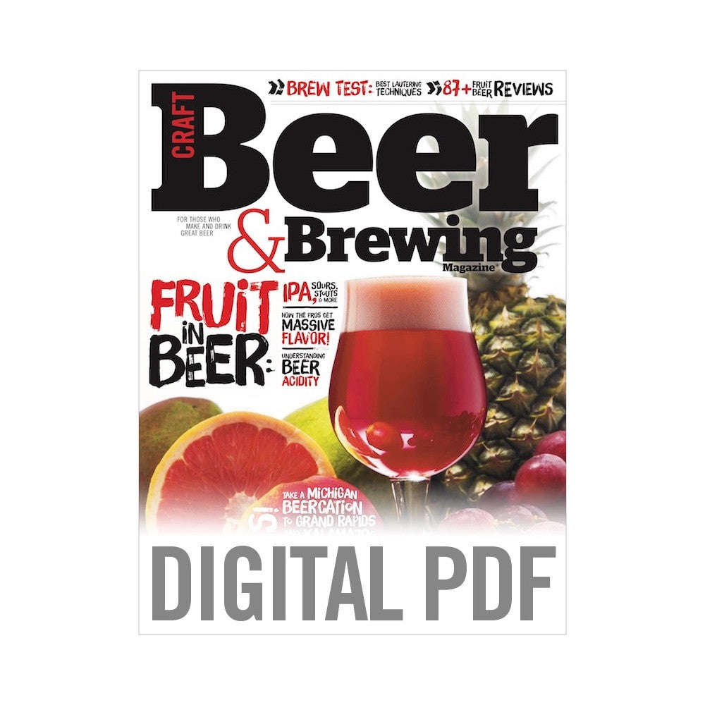 June-July 2017 Issue (Fruit in Beer PDF Download)