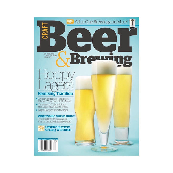 August-September 2016 Issue (Hoppy Lagers) - Craft Beer & Brewing