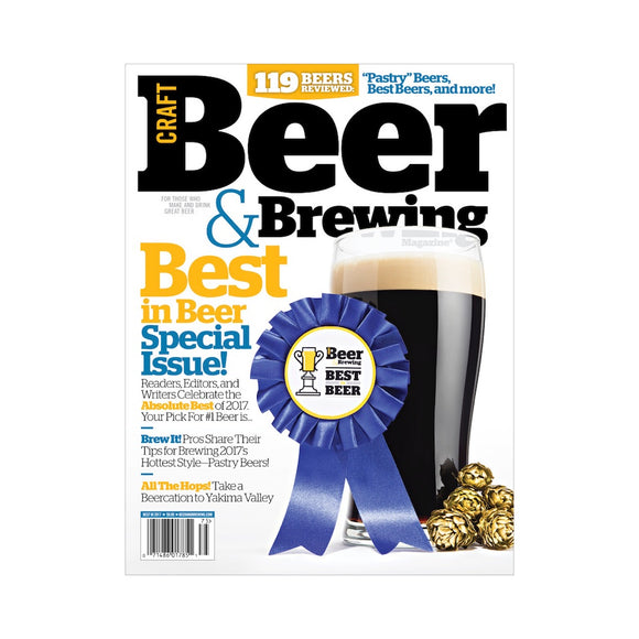 Best in Beer 2017 Special Issue