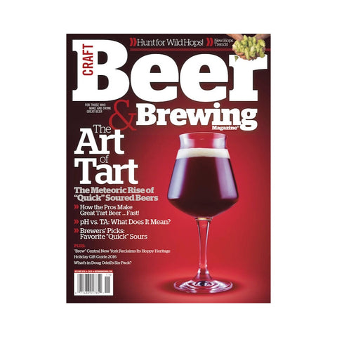 October-November 2016 Issue (The Art of Tart)