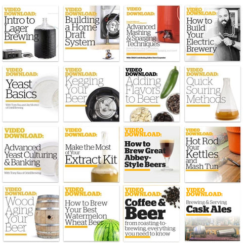 Homebrewers Box Set (Video Download)