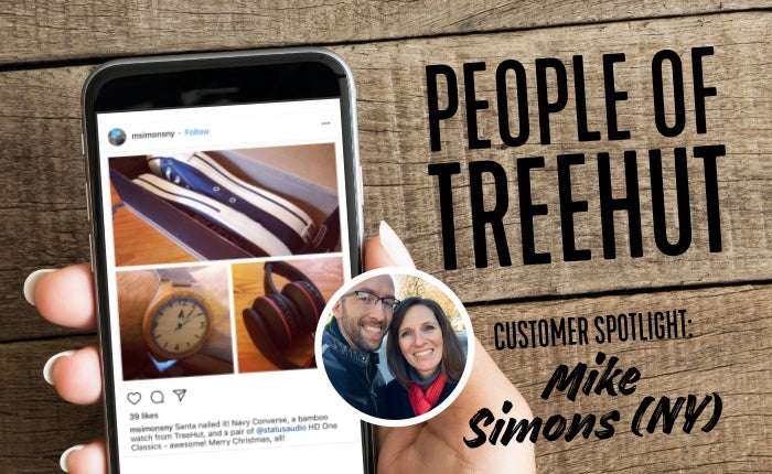 Customer Spotlight: Mike Simons (NY) | Treehut Wooden Watch Review