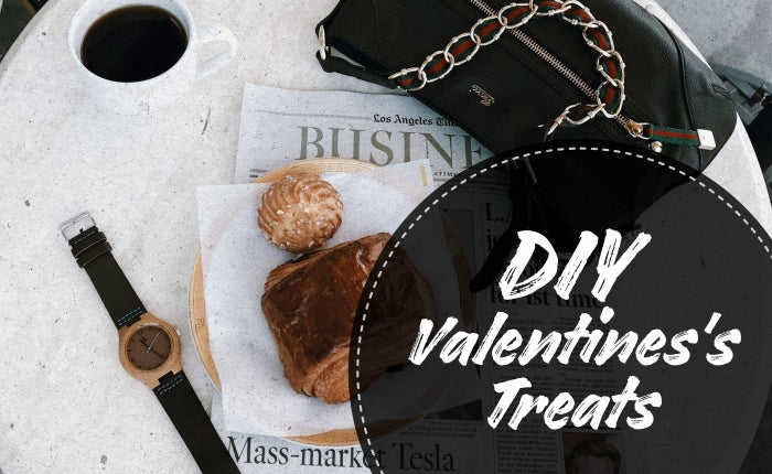DIY Valentine's Treat: Raspberry White Chocolate and Nutella Éclairs | Best Couples Wooden Watches