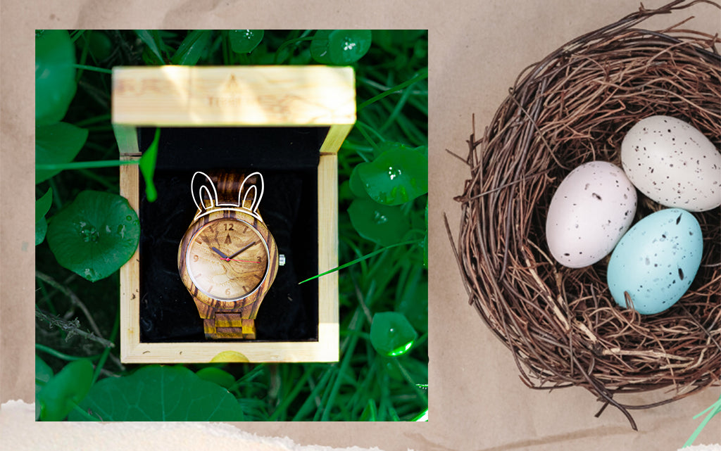 Treats Are In For Easter | Wooden Watches For Easter Surprise