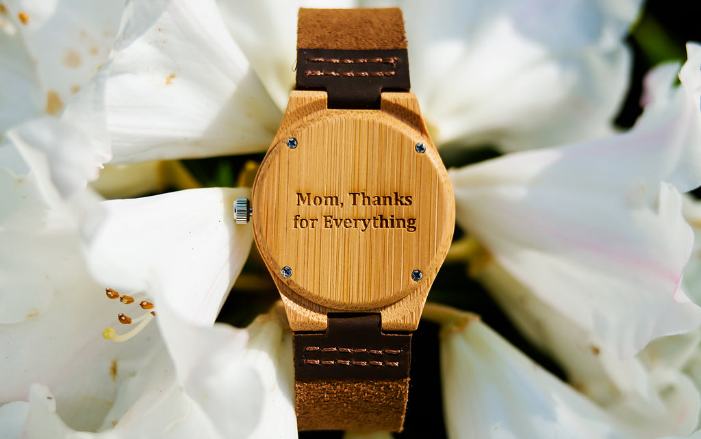 Best Gift for Mothers Day | Things To Do With Mom On Mother's Day | Wooden Watch for Her