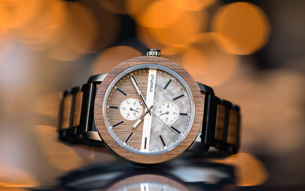 Tao Collection | Mens Wood and Marble Watches