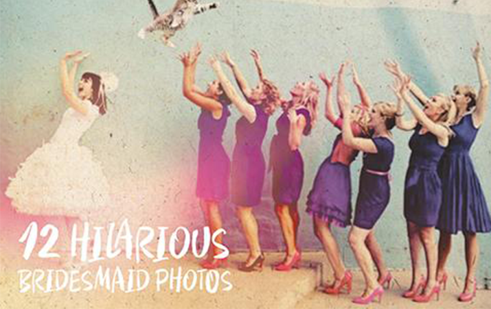 12 Hilarious Bridesmaid Photos