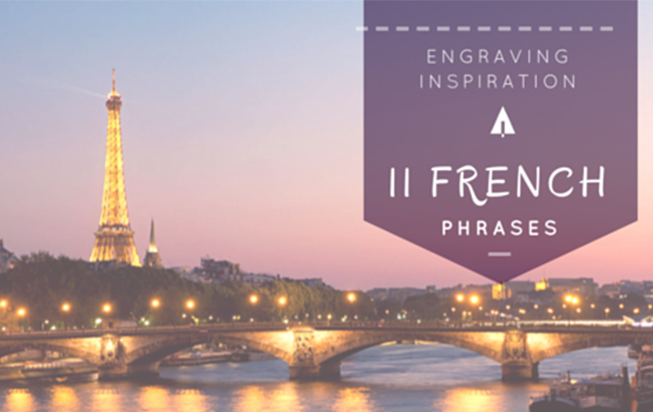 11 Love Phrases in French and English