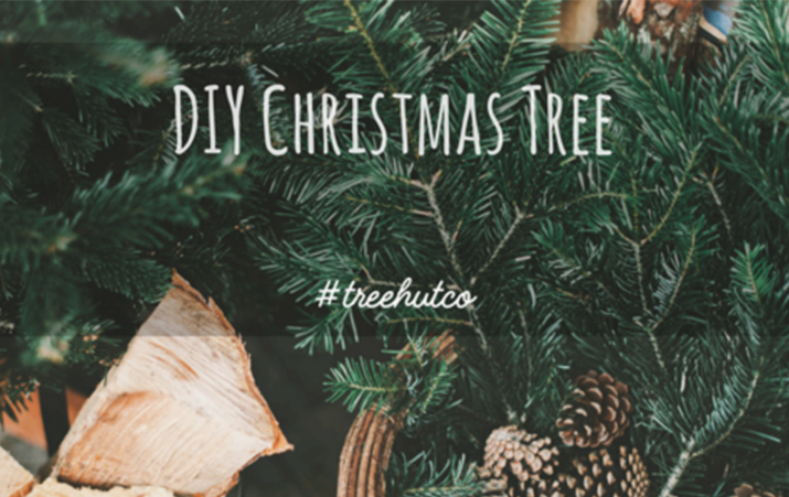DIY Tree Hut Christmas Trees