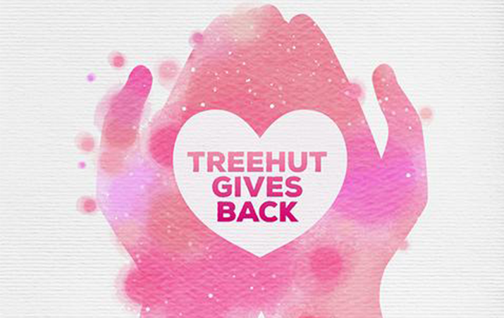 Treehut Gives Back