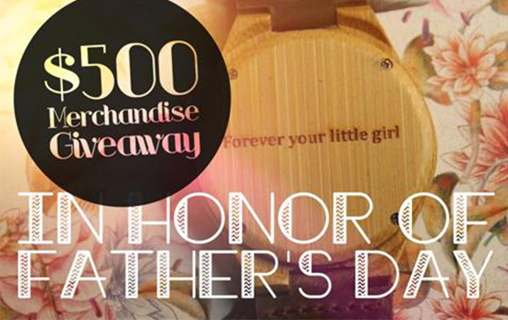 $500 Tree Hut Wooden Watches + Sunglasses GIVEAWAY for Father's Day