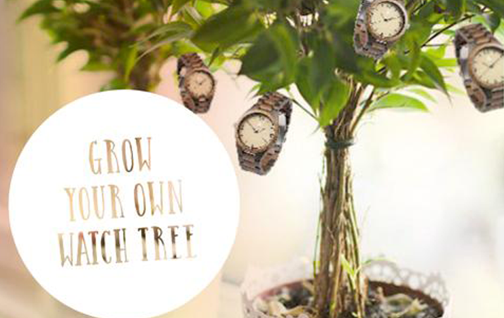 DIY: Grow Your Own Watch Tree