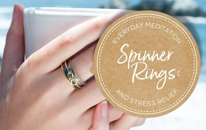 Spinner Rings: Everyday Meditation and Stress Relief | Womens Accessories