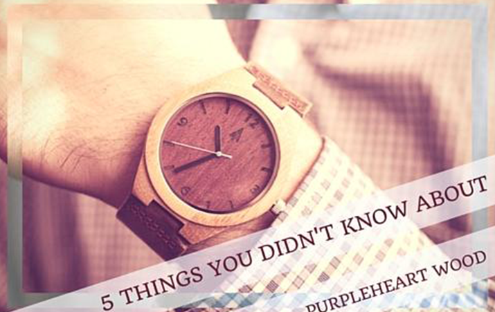 5 Facts About Purpleheart Wood