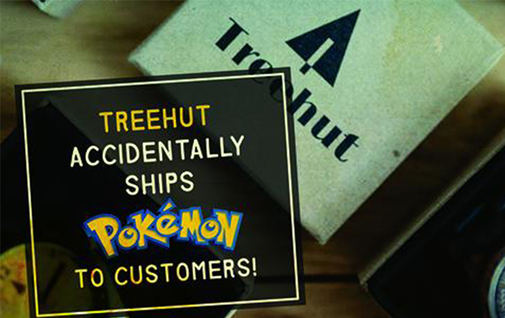 Tree Hut Accidentally Ships Out Pokémon Instead of Watches!
