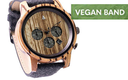 Treehut Introduces Vegan Leather Bands
